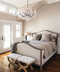 Romantic crystal chandeliers lamps plus for Chandeliers in bedrooms