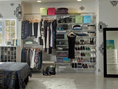 Closet Organizer Racks by Shoe Racks For Closets Hgtv