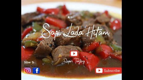 2 siung bawang putih, cinccang halus. Resep Sapi Lada Hitam Ala Dapur Tanjung - YouTube