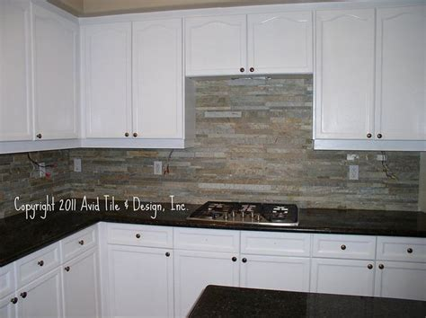 stacked kitchen backsplash 31 best images about home kitchen ideas on