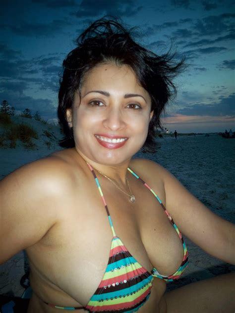 30 Plus Hot Nri Aunty Two Piece Bikini And Sexy Pics From