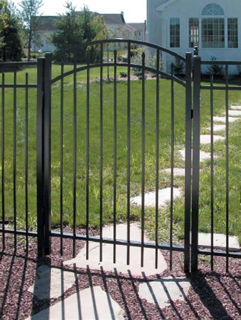 5 chain link fence jerith aluminum fence gates discount fence supply inc