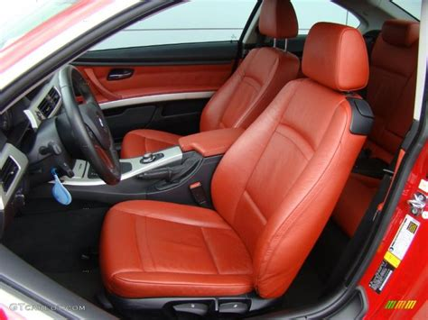 bmw red interior coral red black interior 2008 bmw 3 series 328xi coupe