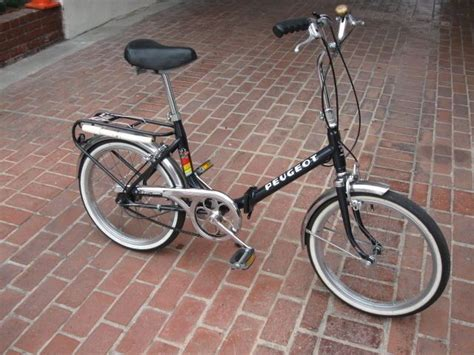 Peugeot Folding Bike by Vintage 20 Quot Peugeot Folding Bicycle 3 Speed Sturmey Archer