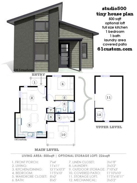 one modern house plans best 25 modern tiny house ideas on modern