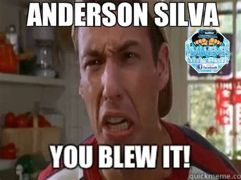 Anderson Silva Meme - memes make fun of anderson silva s knockout loss photos