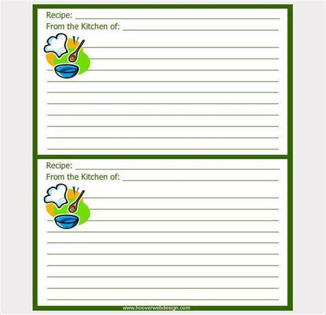 recipe card   psd vector ai eps format