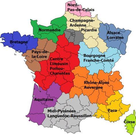 Nouvelle Carte De Par Region by La Nouvelle Carte Des R 233 Gions De Par Fran 231 Ois Hollande