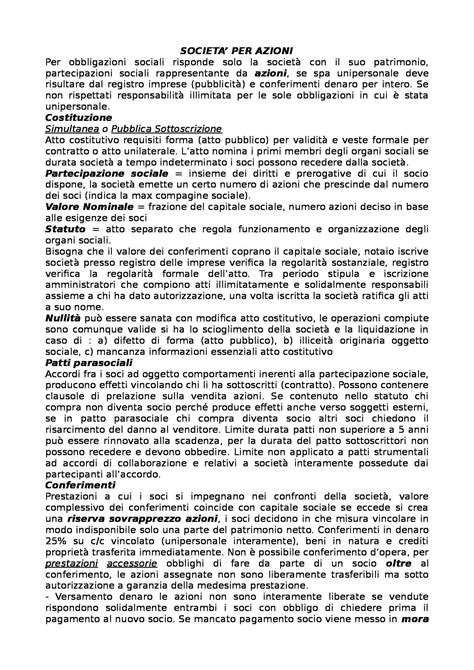 Dispensa Diritto Commerciale by Diritto Commerciale Appunti Secondo Parziale
