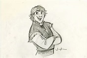 I drew these drawings for cast members a few days | Disney ...