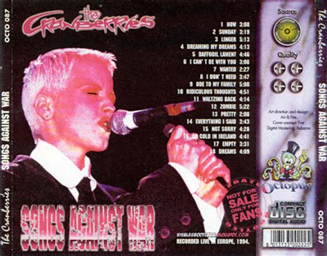 the cranberries songs against war alabamahalle munich germany 1994 ex soundboard mp3