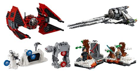 lego star wars spring  sets  brothers brick