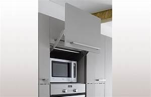 Meuble Cuisine Micro Onde : meuble cuisine four et micro onde modele cuisine en l cuisines francois ~ Teatrodelosmanantiales.com Idées de Décoration