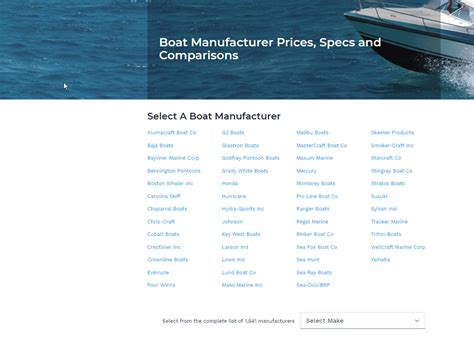 Nada Boat Trailer Value Guide by Boat Prices With Nada Guides Boats