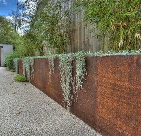 cheap wooden fencing panels corten steel retaining wall gabion1 australia