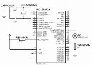 Basic Pic16f877a Circuitry