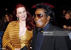 James Brown and wife Tomi Rae Hynie during UK Music Hall ...