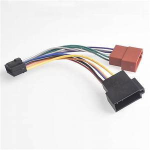16pin Car Stereo Radio Harness Iso For Kenwood Radio To