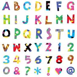 Cute Fonts Alphabet and Numbers