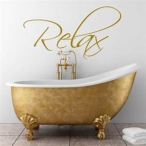 Bathroom wall art sticker by quotes designs
