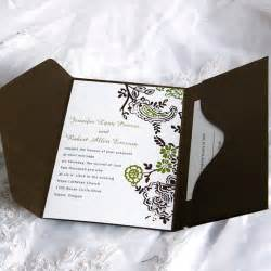 inexpensive save the date cards soft floral frame pocket wedding invitation ukps041