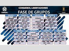 Definidos grupos da Libertadores 2018