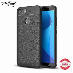 For Phone Case Asus Zenfone Max Plus Zb570tl Cover Litchi Pattern Case Tpu Case For Asus Zenfone