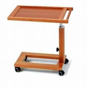 Tablett Fürs Bett : servierwagen aus massivem buchenholz kirschfarben auch als laptoptisch und bett tablett zu ~ Watch28wear.com Haus und Dekorationen