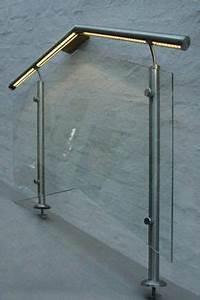 balkongelander der handlauf ist mit leds ausgestattet With whirlpool garten mit balkon edelstahlgeländer mit glasfüllung