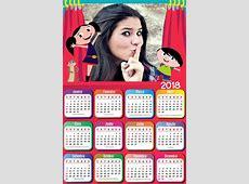 Montagem de fotos Calendário Calendario 2018 online