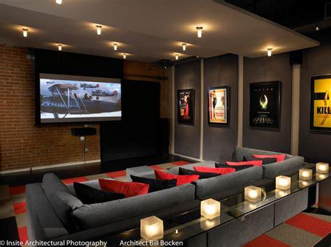 interior design home theater hillcrest loft modern home theater san diego