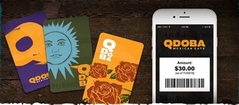 Qdoba Gift Card Balance