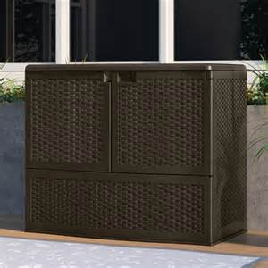suncast backyard oasis storage and entertaining station