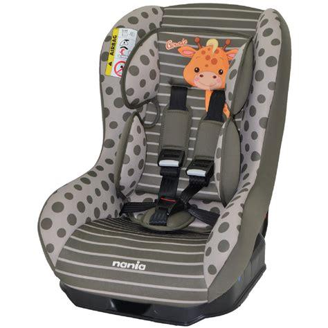 nania siege auto nania autostoel safety plus nt giraffe pinkorblue nl