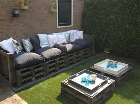 Pallet Patio Furniture Plans by Outdoor Furniture From Pallets Home Garden Design