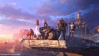 Fantasy Final Remake Team Resolution Wallpapers Games