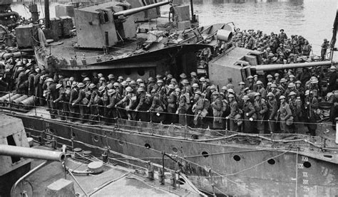How Many Boats Were Used In Dunkirk by Historic Images From The World War Ii Dunkirk Rescue