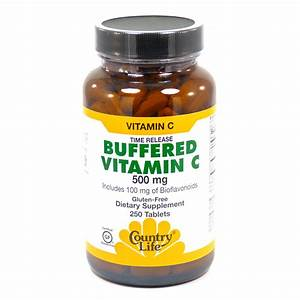 Buffered Vitamin C 500 Mg By Country Life