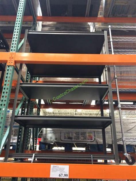 whalen  shelf storage rack industrial strength steel construction costcochaser