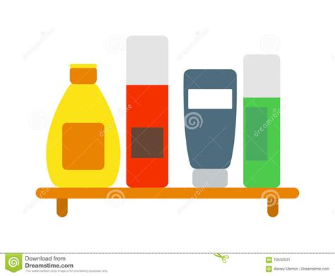 Clean Bottle For Soap Royalty-free Illustration