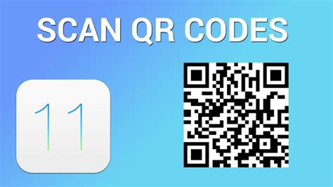 how to scan on iphone how to scan qr codes in iphone with ios 11