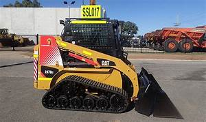 Cat 247b-3 Skid Steer For Rent Or Sale