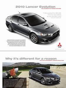 2010 Mitsubishi Lancer Evolution Brochures  Us