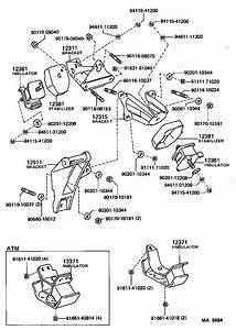 Toyota Corolla Insulator  Engine Mounting  Front