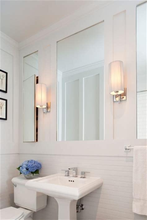 inset medicine cabinets transitional bathroom