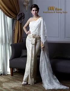 thai wedding dress traditional thai dresses pinterest With thai traditional wedding dress