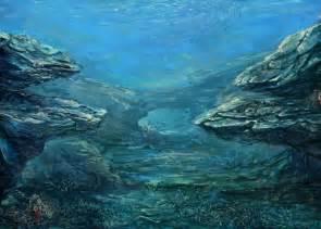 Underwater Landscape Sea
