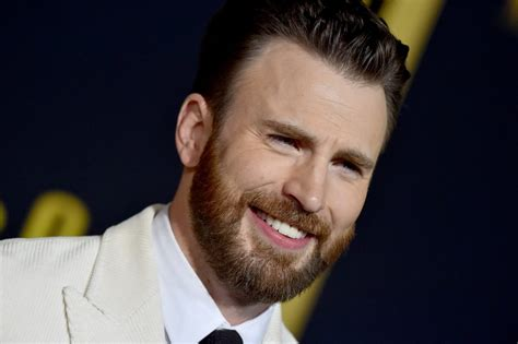 Chris Evans Wears 'Knives Out' Sweater on 'Play Date' With ...