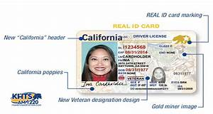 DMV To Issue 'Real ID' Required For Air Travel Starting In ...