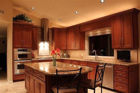 cherry wood cabinets ideas  pinterest